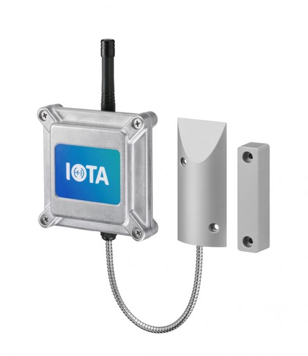 Nollge IOTA Industrial Magnetic Gate Sensor Outdoor