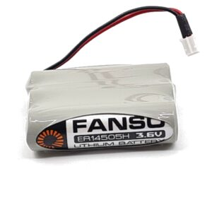 Lithiumparisto Fanso ER14505H-3 3-pack with cable and 3M tape 3.6V 8100mAh