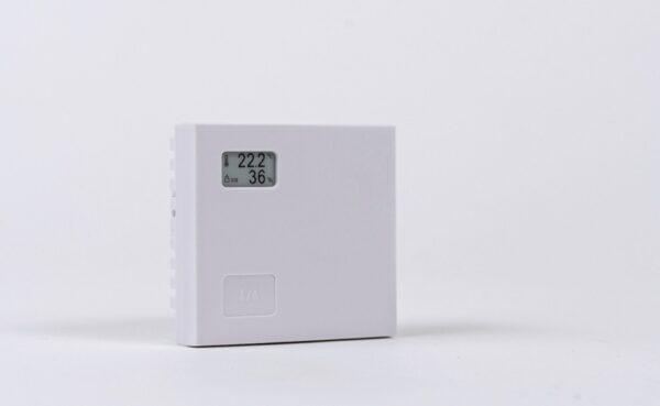 Nollge Connected AirWits Plus on langaton lämpötila- ja ilmankosteusmittari, joka on varustettu näytöllä